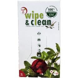 Wipe&Clean aux huiles essentielles de menthe - 2L